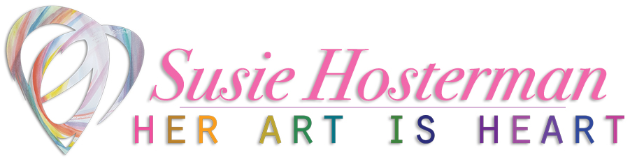 Her Art is Heart - Art and Design by Susie Hosterman